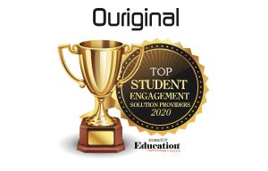 ouriginal plagiarism prevention text-matching award